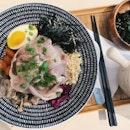 Sake Soy Marinated Beef Bowl $19++