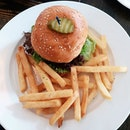 Beef Brisket burger from T Bob's Corner!