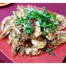 Garlic Prawns from Fatty Crab!