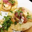 Shrimp Tacos from Barrio!