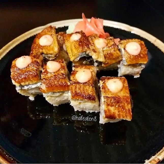 Unagi Salmon Mentai Maki from Peace Japanese Cuisine!