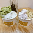 Gelato from Dopa Dopa Creamery!