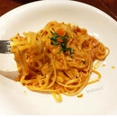 Crabmeat Linguine in Pink Sauce from Pietro!