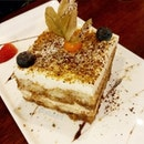 Tiramisu from Pietro Italian Restaurant!