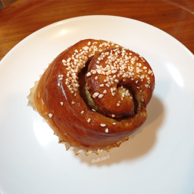 Cinnamon Roll from Konditori Bakery!