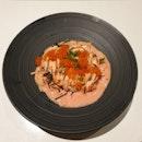 Hot Salmon Mentai Pasta from LeCoq!