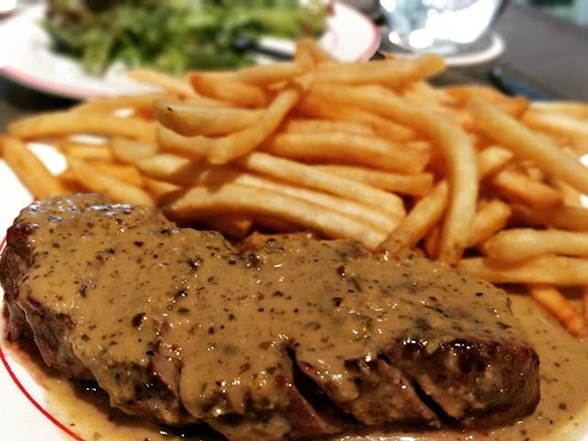 #cxyi - steak for dinner here because theres one for one with burpple.