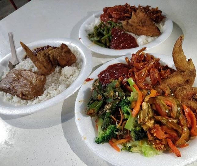 #cxyi @icedteholic - 3rd Feb 2019 - our late dinner at chong pang nasi lemak.