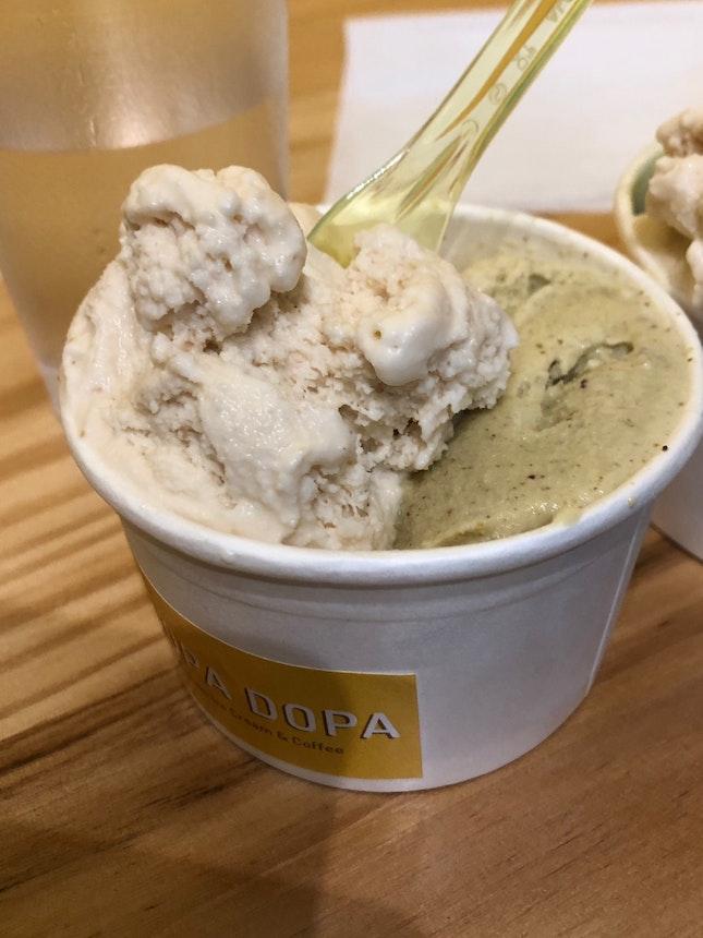Hazelnut / Pistachio Ice Cream