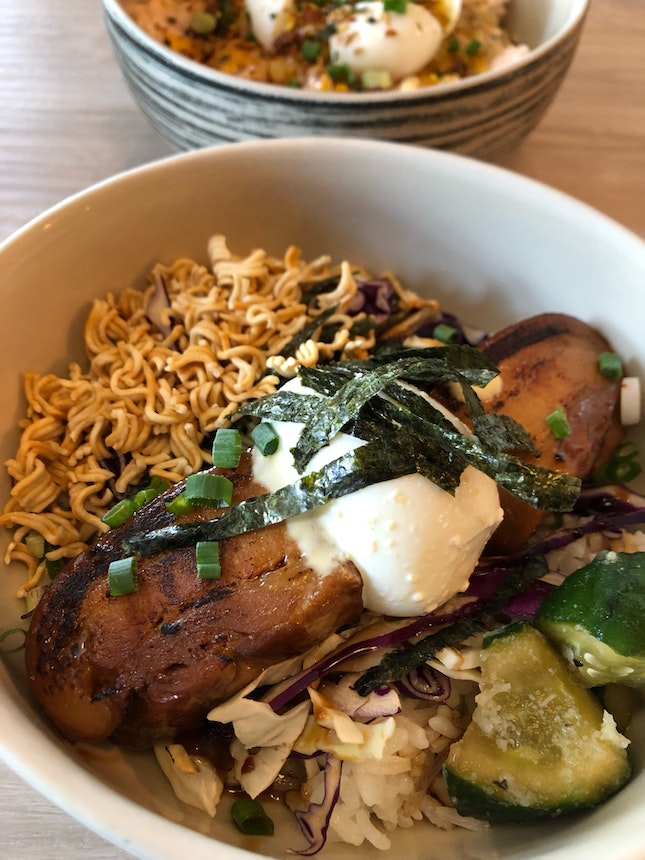 Miso Pork Belly bowl