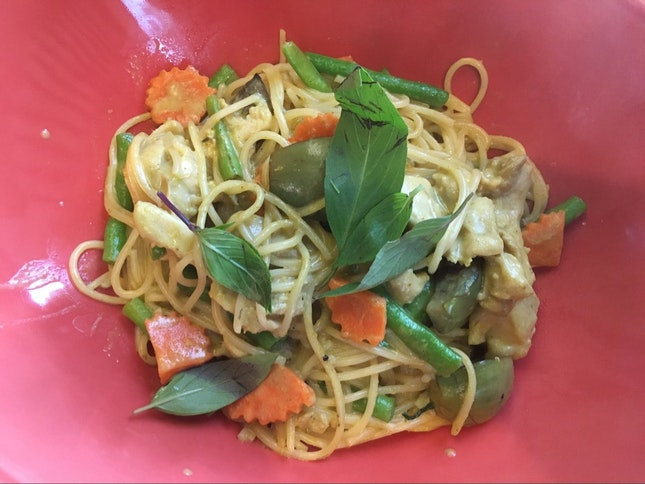 Green Curry Pasta
