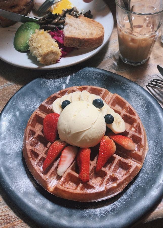 Yummy Waffles 😋