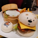 Ice Bear Terrifc Teriyaki Katsu Chicken Burger
