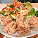 the #karaage indeed live up to its name.