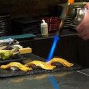 unagi getting torch-tured (tortured) 😆