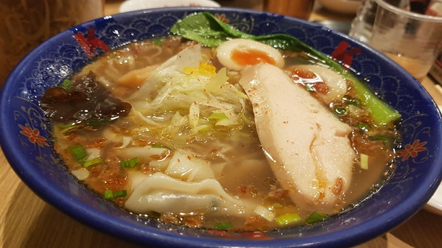 Ramen With Clear Soup