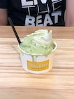 Green Tea With Toasted Rice & Avocado Double Scoop