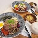 Healthy Multigrain rice bowls (rice crispies, barley, almond etc) tasted great with bonito kelp broth!