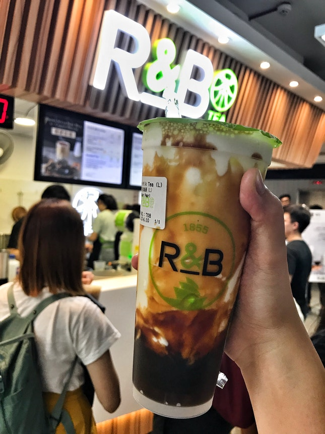 R&B Tea, Brown Sugar Boba Milk