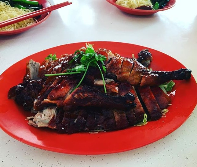 1/2 Roasted Duck 👍🏻👍🏻👍🏻👍🏻 $20 .