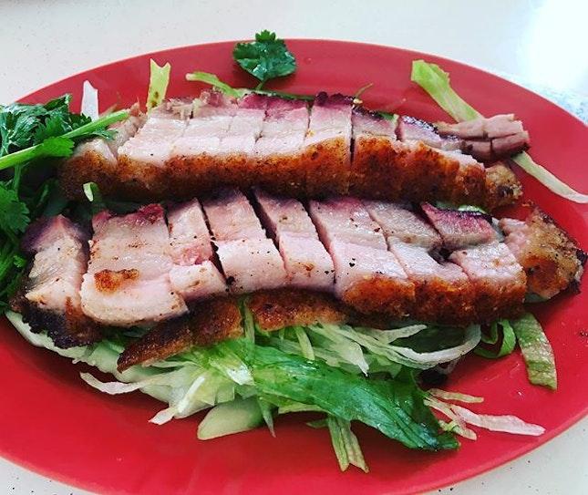 Roasted Pork Belly 👍🏻👍🏻👍🏻👍🏻 $10 .