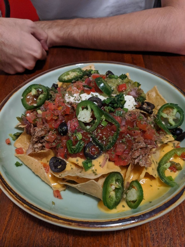 Nachos + Double Taco (Not In Picture)