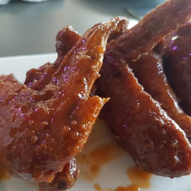Sticky Wings #yangnumchicken #chickenwings #sgfoodies #sgfoodie #foodiesg #foodblog #instafood #instafoodie #instafoodsg #igsg #sgig #igsgfood #sgigfoodies #foodiesofinstagram #sgeats #eatsg #hungrygowhere #foodphotography #singaporeeats #sgfoodlovers  #igfoodie #sgfoodblogger #dailyfoodfeed #burpple