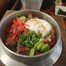 #Unagi #Kamameshi with 3 sides #japanesefood