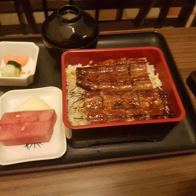 #JoUnagi #Teishoku, with tasty braised unagi.