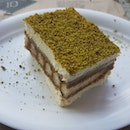 #pistachio #tiramisu  First time i have had this combo.