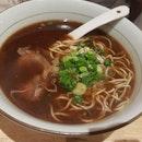 红烧牛肉面 LeNu Beef Shank Noodles.