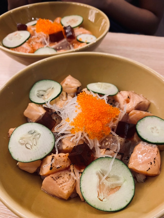 Aburi Salmon Don + Salmon Don ($13)