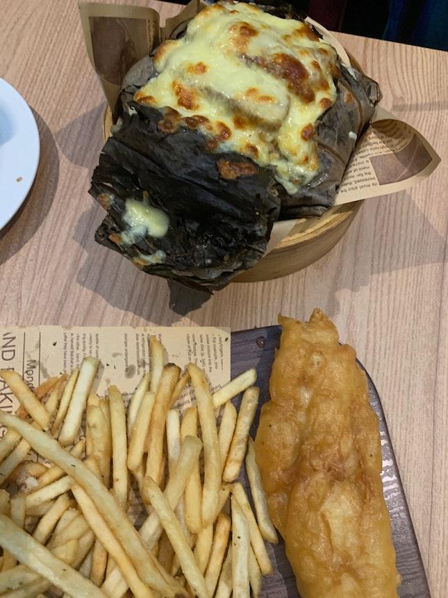 Classic Fish & Chips + Lotus treasure