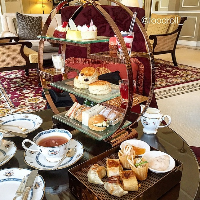Afternoon Tea @ Majestic Hotel Colonial Cafe  Finally able to try after so long when the hype has died down.