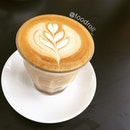 Latte aka White Coffee @ Proof Cafe  Sweet, nutty and slightly acidic.