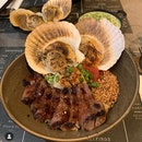 Beef And Scallops Bowl