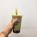 Roasted Oolong Milk Tea with Brown Sugar Pearls