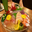 There's always something magical about a nice assortment of sashimi!