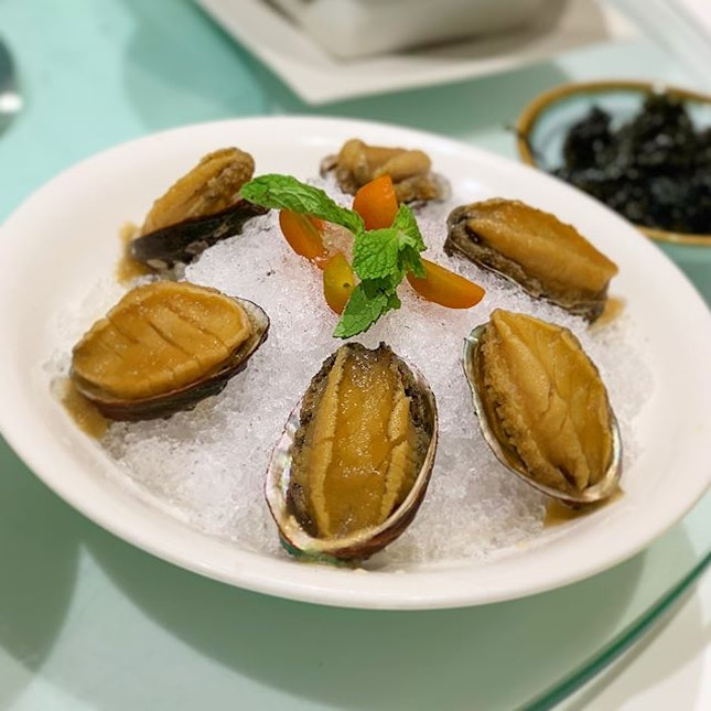 Chilled whole abalone