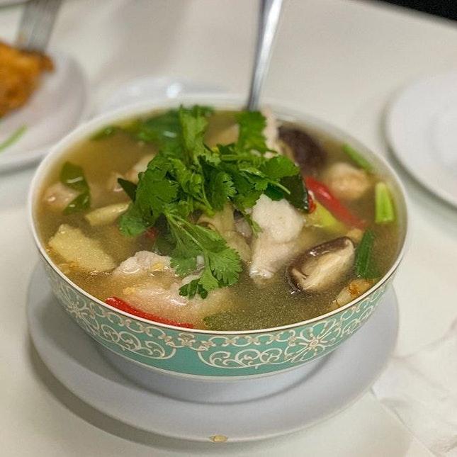 Throwback to this bowl of Tom Yum at Jay Fai.