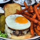 "The ""Old Fashion"" burger ($25++), keeping it nice and simple!"
