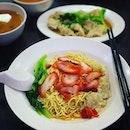 Eng's famous Wantan Noodles...