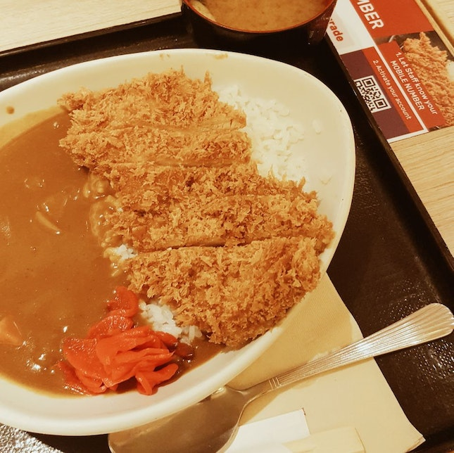 Always my go-to place for a decent, affordable katsu meal