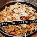 Sizzling Garlic Rice
