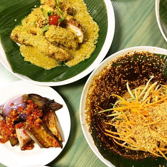 IDEA: try some Indonesian for lunch at Nasi Penang...