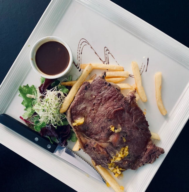 Steak & Fries ($34)