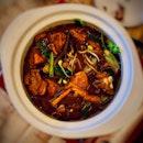 Mushroom Herb Chicken Pot ($20)