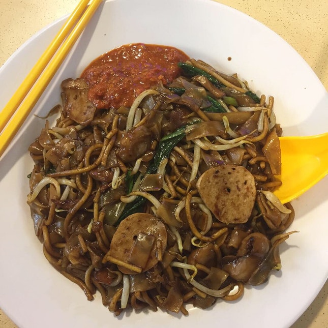 Wok Hei Vegetarian Char Kway Teow