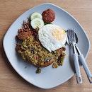 $5.90 Nasi Lemak With Indonesian Influences