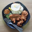 Ah Tan Chicken Cutlet Rice (Set B $6.80)